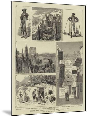 Round the World Yachting in the Ceylon, III-Charles Edwin Fripp-Mounted Giclee Print