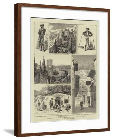 Round the World Yachting in the Ceylon, III-Charles Edwin Fripp-Framed Giclee Print