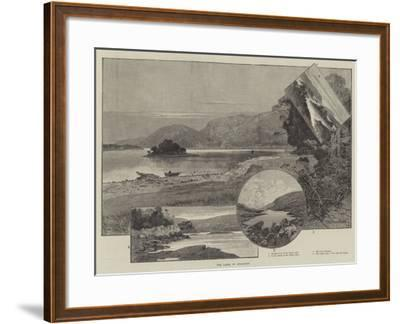 The Lakes of Killarney-Charles Auguste Loye-Framed Giclee Print