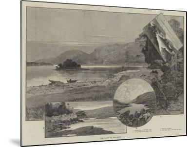The Lakes of Killarney-Charles Auguste Loye-Mounted Giclee Print