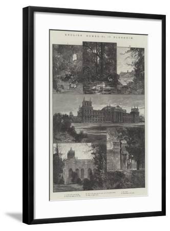 English Home, Blenheim-Charles Auguste Loye-Framed Giclee Print
