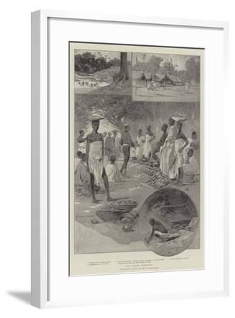 The Ashanti Expedition-Charles Auguste Loye-Framed Giclee Print