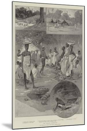 The Ashanti Expedition-Charles Auguste Loye-Mounted Giclee Print