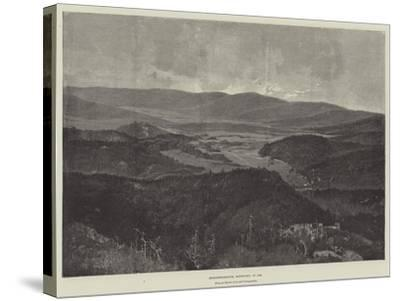 Middlesborough, Kentucky, in 1889-Charles Auguste Loye-Stretched Canvas Print