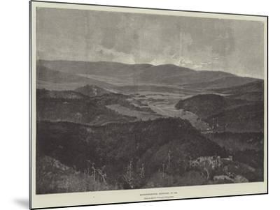 Middlesborough, Kentucky, in 1889-Charles Auguste Loye-Mounted Giclee Print