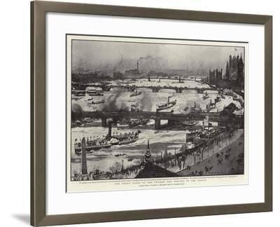 The Penny Fleet of the Thames, the Opening of the Season-Charles Edward Dixon-Framed Giclee Print