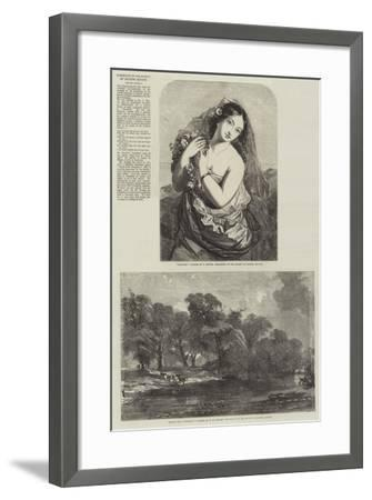 Exhibition of the Society of British Artists-Charles Baxter-Framed Giclee Print