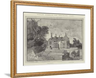 Scrivelsby Court-Charles Auguste Loye-Framed Giclee Print