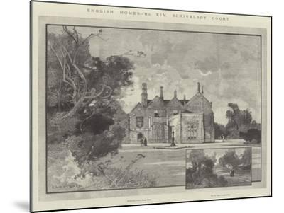 Scrivelsby Court-Charles Auguste Loye-Mounted Giclee Print
