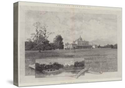Stoke Park, Buckinghamshire-Charles Auguste Loye-Stretched Canvas Print