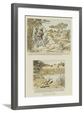 Sport in South Africa-Charles Edwin Fripp-Framed Giclee Print