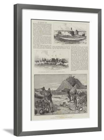 The Matabili War-Charles Auguste Loye-Framed Giclee Print