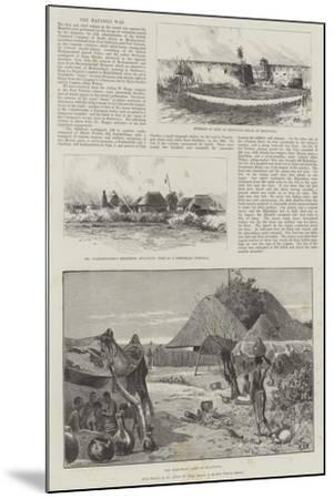 The Matabili War-Charles Auguste Loye-Mounted Giclee Print