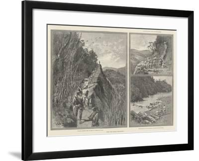 With the Lushai Expedition-Charles Auguste Loye-Framed Giclee Print