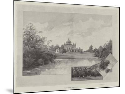 English Homes, Stoke Park-Charles Auguste Loye-Mounted Giclee Print
