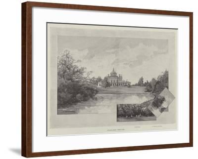 English Homes, Stoke Park-Charles Auguste Loye-Framed Giclee Print