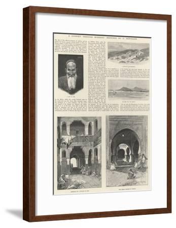 A Journey Through Morocco-Charles Auguste Loye-Framed Giclee Print