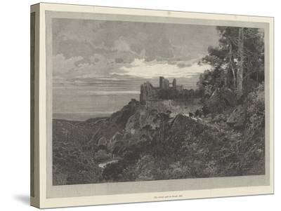 A Ward of the Golden Gate-Charles Auguste Loye-Stretched Canvas Print