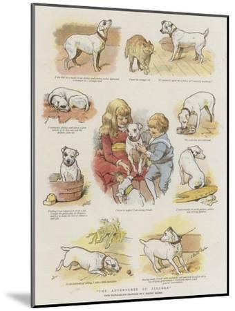The Adventures of Pincher-Charles Burton Barber-Mounted Giclee Print