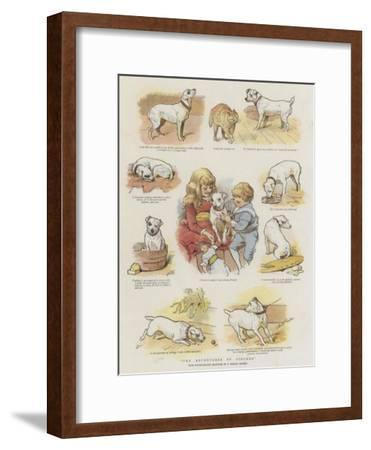 The Adventures of Pincher-Charles Burton Barber-Framed Giclee Print