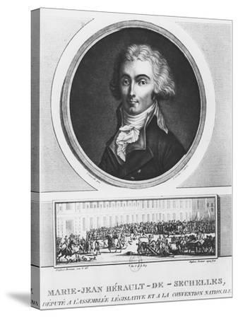 Marie-Jean Hérault De Séchelles-Charles Francois Gabriel Levachez-Stretched Canvas Print