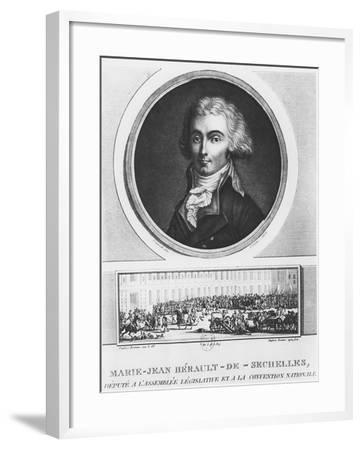 Marie-Jean Hérault De Séchelles-Charles Francois Gabriel Levachez-Framed Giclee Print