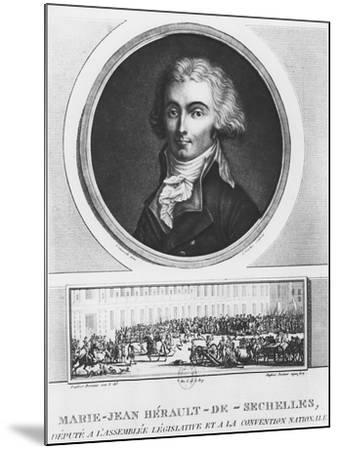 Marie-Jean Hérault De Séchelles-Charles Francois Gabriel Levachez-Mounted Giclee Print