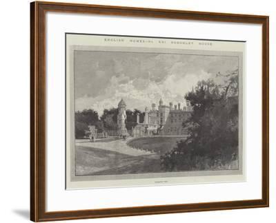 Burghley House-Charles Auguste Loye-Framed Giclee Print