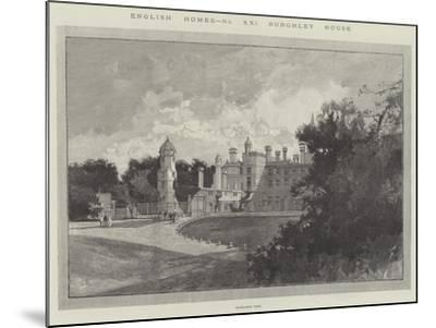 Burghley House-Charles Auguste Loye-Mounted Giclee Print
