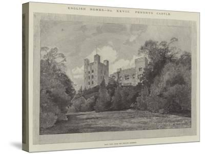 Penrhyn Castle-Charles Auguste Loye-Stretched Canvas Print
