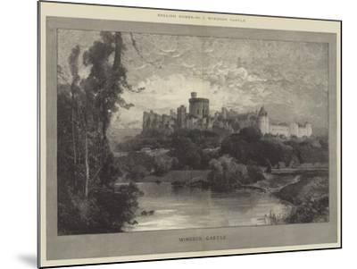 Windsor Castle-Charles Auguste Loye-Mounted Giclee Print