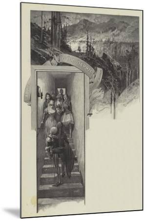 Wild Darrie-Charles Auguste Loye-Mounted Giclee Print