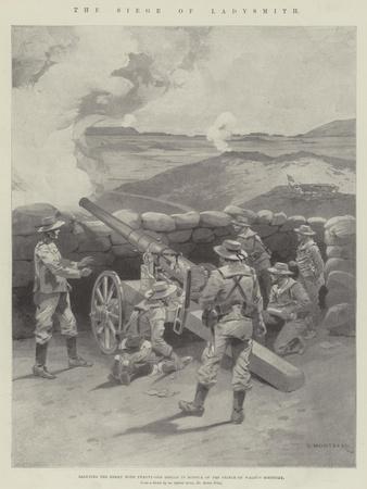 The Siege of Ladysmith-Charles Auguste Loye-Framed Giclee Print