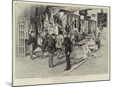 Preparing for Klondyke-Charles Edwin Fripp-Mounted Giclee Print