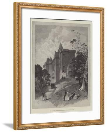 The Glasgow International Exhibition, the Bishop's Palace-Charles Auguste Loye-Framed Giclee Print