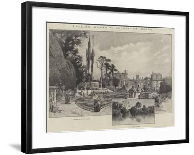 Wilton House-Charles Auguste Loye-Framed Giclee Print