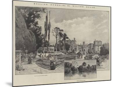 Wilton House-Charles Auguste Loye-Mounted Giclee Print