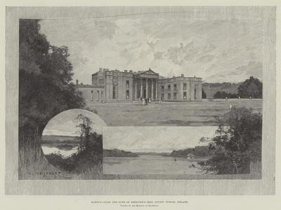 Baron's Court, the Duke of Abercorn's Seat, County Tyrone, Ireland-Charles Auguste Loye-Framed Giclee Print