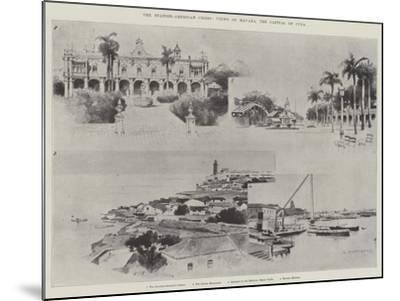 The Spanish-American Crisis, Views of Havana, the Capital of Cuba-Charles Auguste Loye-Mounted Giclee Print