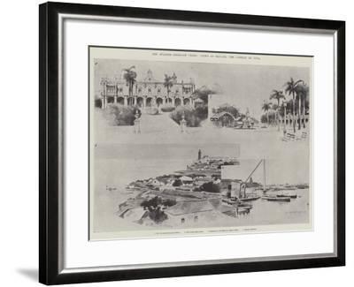The Spanish-American Crisis, Views of Havana, the Capital of Cuba-Charles Auguste Loye-Framed Giclee Print