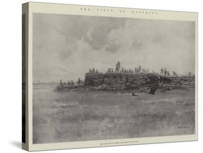 The Siege of Mafeking-Charles Auguste Loye-Stretched Canvas Print