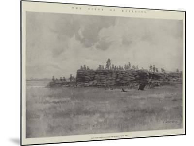 The Siege of Mafeking-Charles Auguste Loye-Mounted Giclee Print
