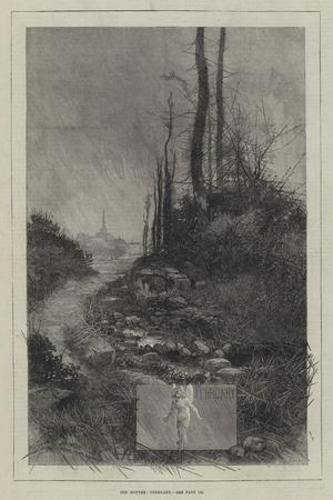 The Months, February-Charles Auguste Loye-Stretched Canvas Print