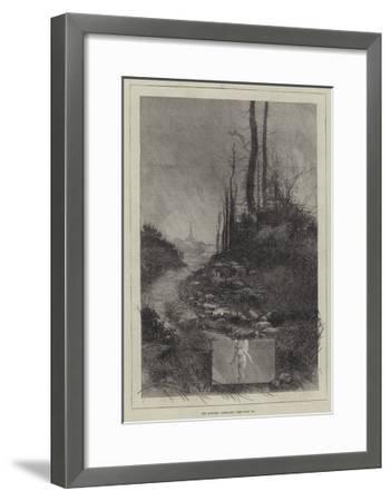 The Months, February-Charles Auguste Loye-Framed Giclee Print