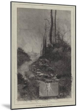 The Months, February-Charles Auguste Loye-Mounted Giclee Print