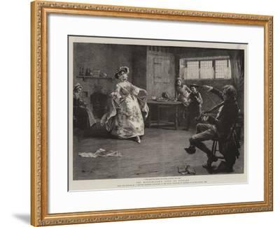 Peg Woffington's Visit to Triplet-Charles MacIvor Grierson-Framed Giclee Print