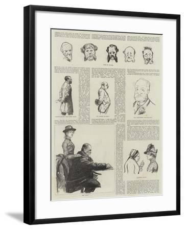 A Visit to Monte Carlo-Charles Paul Renouard-Framed Giclee Print