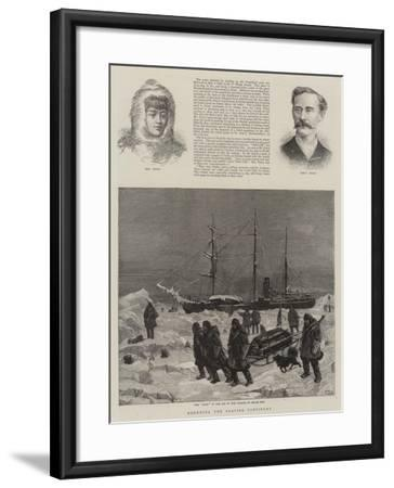 Rounding the Glacial Continent-Charles Joseph Staniland-Framed Giclee Print