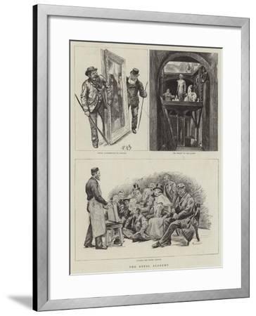 The Royal Academy-Charles Paul Renouard-Framed Giclee Print