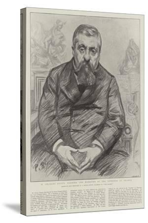 M Charles Dupuy, Premier and Minister of the Interior of France-Charles Paul Renouard-Stretched Canvas Print